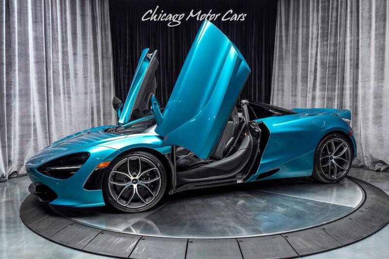 Image 1 Voiture Asiatique d'occasion McLaren 720S 2020