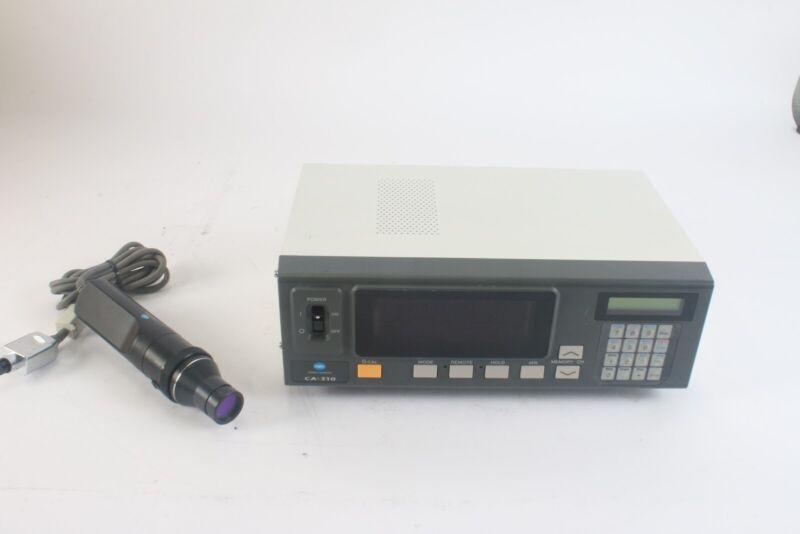 Konica Minolta CA-310 Display Color Analyzer W/ CA-P32/35 Sensor Probe