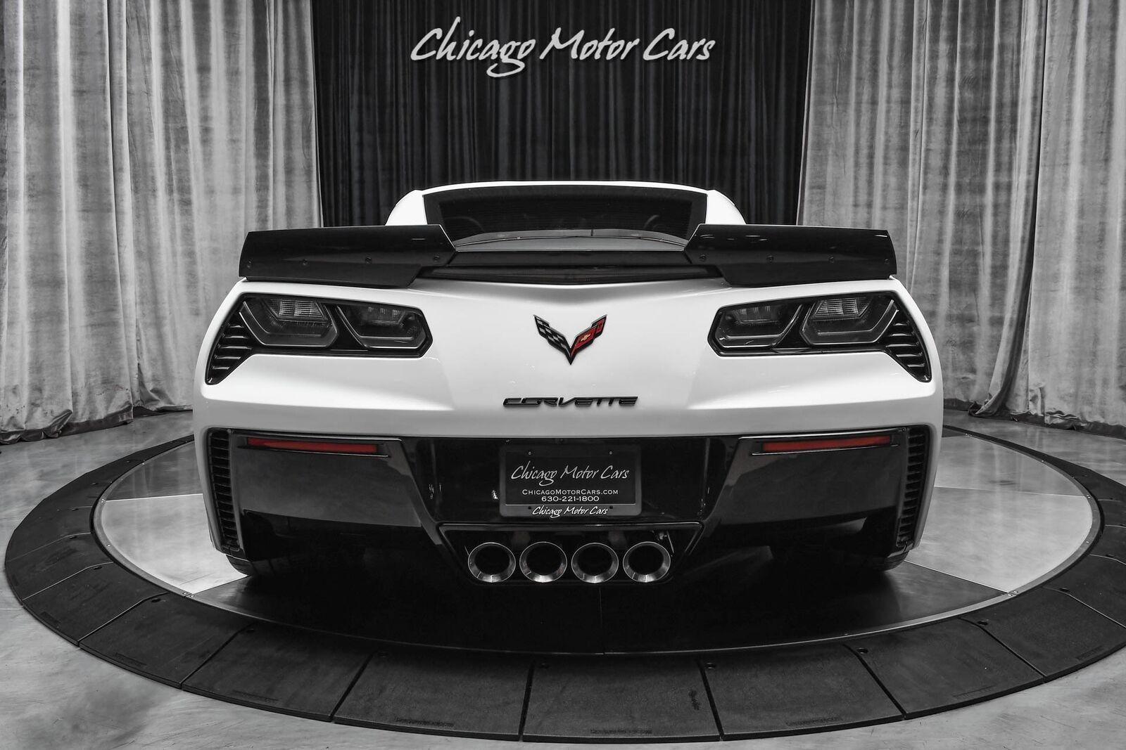 2019 White Chevrolet Corvette Z06 2LZ   C7 Corvette Photo 4