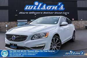 2015 Volvo V60 T6 | AWD | LEATHER | SUNROOF | NEW TIRES + BRAKES