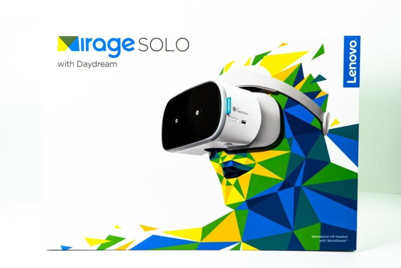 Lenovo Mirage Solo with Daydream - Standalone Virtual Reality Headset- New