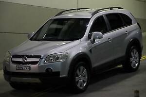 Holden Captiva Lx 2007 automatic 7 seater leather front and back Beaumont Hills The Hills District Preview