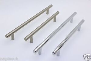 T-Bar-Handles-Satin-Nickel-or-Polished-Chrome-Finishes-16-Sizes-In-Stock