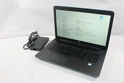 "HP ZBook 17 G3 17.3"" FHD QC i7-6700HQ 2.6GHz 32GB 512GB Quadro M2000M Windows 10"