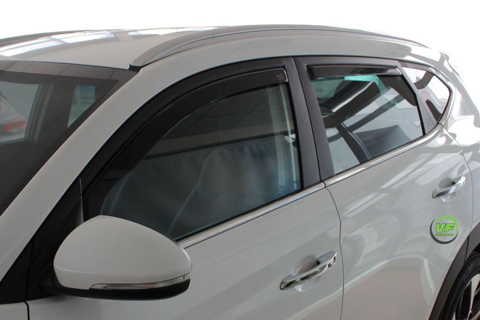 Dhy17285 Hyundai Tucson Mk2 2015 Up Wind Deflectors 4pc