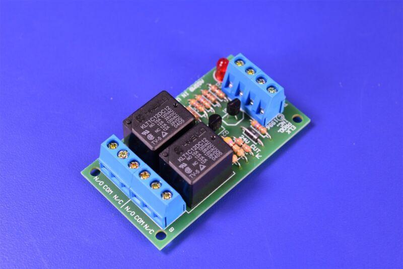 Elk Products ELK-924 DPDT 12V 24V DC Sensitive Relay