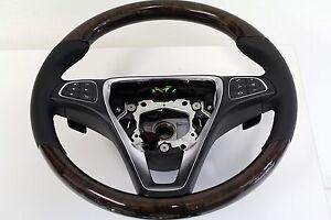 original Mercedes Lenkrad Holz Wurzelnuss GLE Coupe W292 GLE W166 GLC E-W213