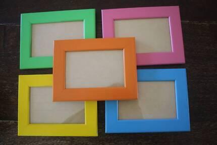 "4x6""coloured frames - 6 frames Wynnum Brisbane South East Preview"