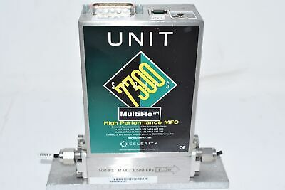 Celerity Unit Instruments Mass Flow Controller 7300 Ufc-7301c 400cc O2