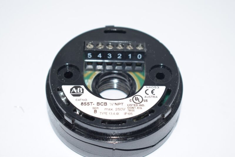 Allen-Bradley 855T-BCB Stack Light Mounting Base, 70 mm, Surface