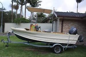 Centre Consol Tinny Great Fishing Boat Davistown Gosford Area Preview