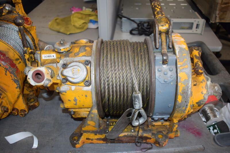 Ingersoll Rand BU7A Air Tugger Winch 1000 lb. 120