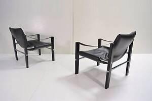 PAIR Arkana UK Registered Designer LABELS Chairs.VINTAGE.Parker Sydenham Marrickville Area Preview