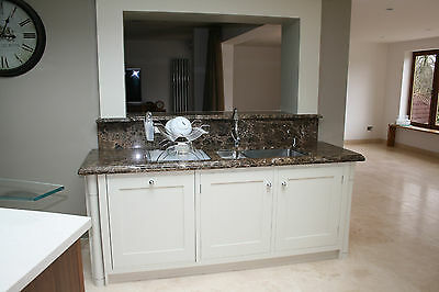 """Write to Paper Granite LOOK Counter Top Viny Film Overlay Abstruse Brown 36"""" x 12ft"""