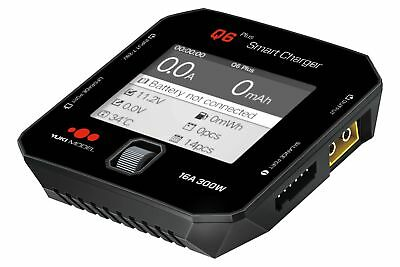 Q6 Plus 12V24V 300W 16A LAder ISDT Farbdisplay kompakt