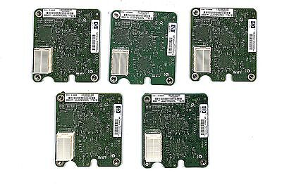 Lot of 5x HP NC364m BladeSystem c-Class Quad Port 1GbE Adapter 448066-001