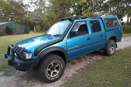 HOLDEN RODEO LX 4X4 DUAL CAB TURBO DIESEL 2002 Tewantin Noosa Area Preview
