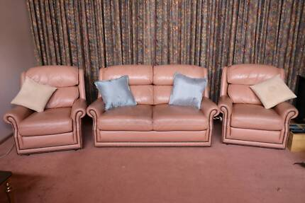 leather couch in Croydon 3136, VIC | Sofas | Gumtree Australia Free ...