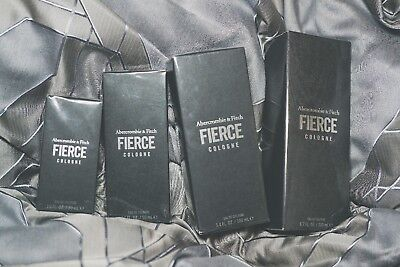 New Authentic Fierce By Abercrombie   Fitch 1 0 1 7 3 4 6 7 Oz Cologne Spray