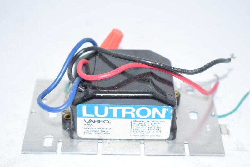Lutron V-600 Preset Dimmer 120 V 600 Watt Light Switch Incandescent Magnetic
