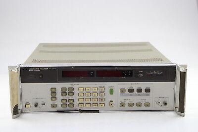 Hpagilent 8903a Audio Analyzer 20hz To 100khz