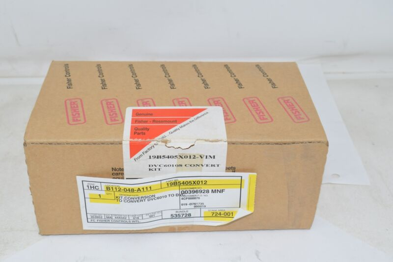 NEW Fisher Emerson 19B5405X012 Kit, Conversion To DVC6010 To DVC