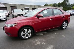 2010 Kia Forte EX SEDAN AUTO CERTIFIED 2YR WARRANTY *NO ACCIDENT