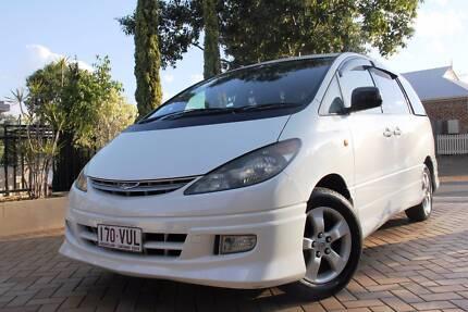 2002 Toyota Tarago Estima 8 Seater Wagon Forest Lake Brisbane South West Preview