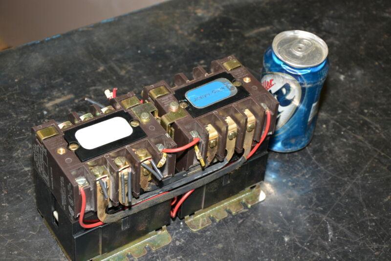 Joslyn Clark T31U030 Reversing Contactor;5 HP;Nema Size 0;for hoist INV=16211