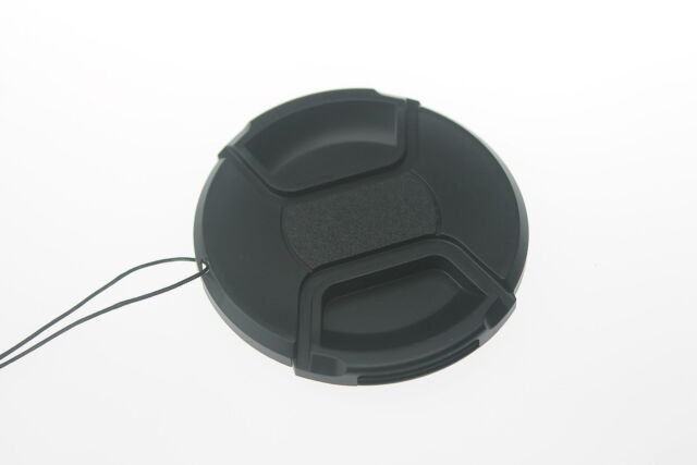 77mm Center Pinch Snap on Front Cap For Sony Canon Nikon Lens Filters