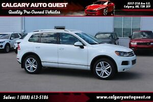 2012 Volkswagen Touareg 3.0 TDI Execline AWD/NAVIGATION/LEATHER/