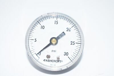 Ashcroft 0-30 Psi Pressure Gauge 2 Face Diameter