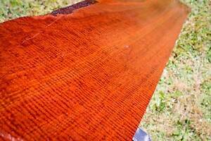 Curly jarrah small timber slab, 172cm x 26.5cm x 34mm. Ref #7 Mount Lawley Stirling Area Preview