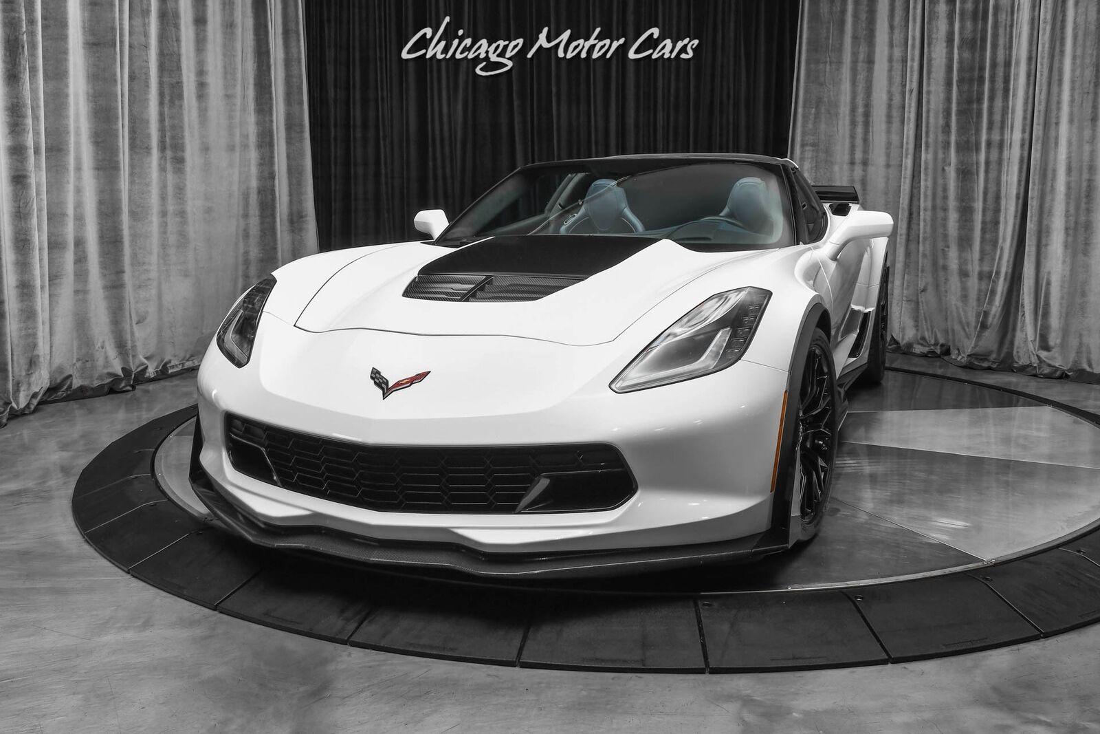 2015 White Chevrolet Corvette Z06 3LZ | C7 Corvette Photo 2