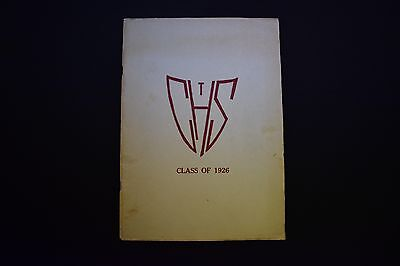 1926 The Glen Echo Codorus Township High School Glenville Pa Yearbook Unsigned