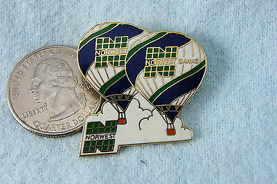 Hot Air Balloon Pin Northwest Banks Double Balloons