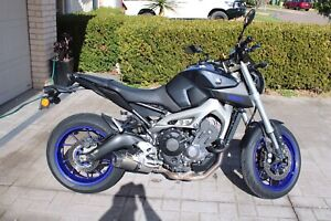 YAMAHA MT09 2013 EXTRAS KEVIN HOPE TUNE, SUSPENSION UPGRADE