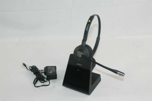 Jabra Engage 75 Single Wireless Ear-Pad Headset With Charger And Microphone