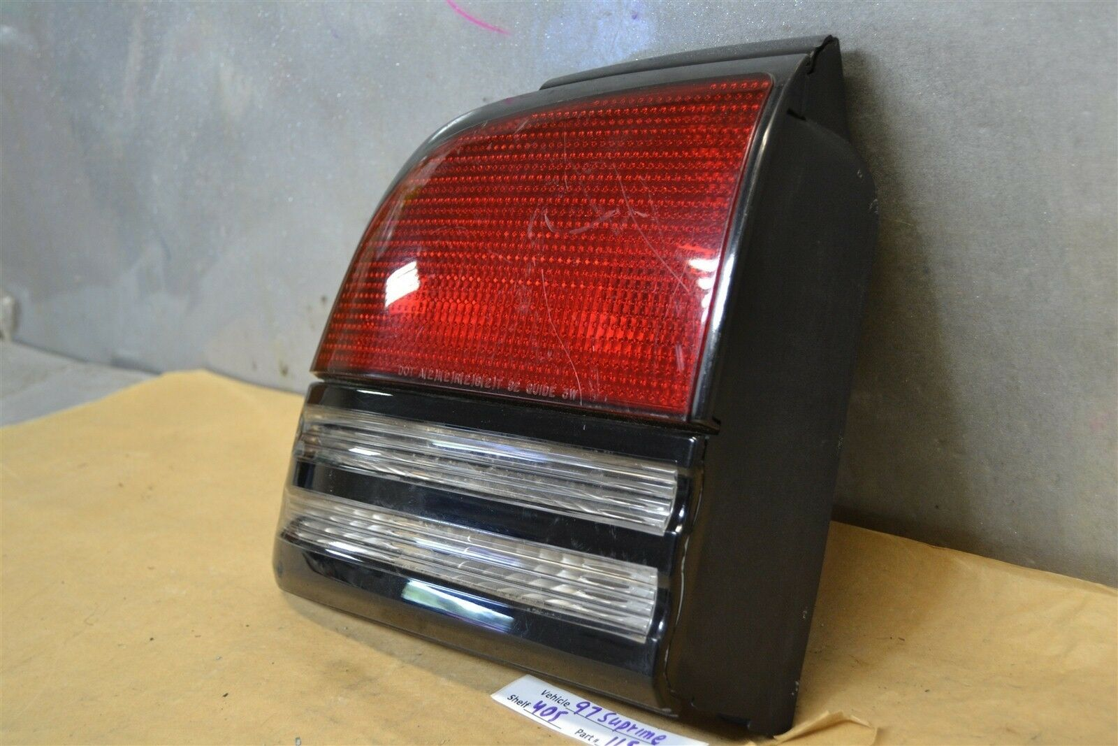 Used 1997 Oldsmobile Cutlass Tail Lights For Sale Cutl Supreme