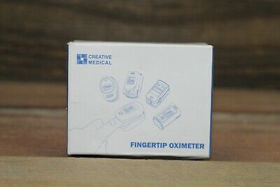 Creative Medical Fingertip Pulse Oximeter With Large Lcd Display Pc-60a