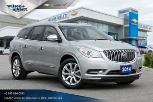 2014 Buick Enclave Leather | 7 PASS | LEATHER | REMOTE START |