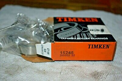 Timken 15245 Tapered Roller Bearing And Cup