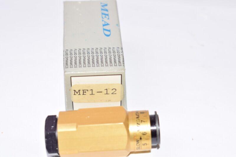 NEW MEAD, Model: MF1-12 Pneumatic Flow Control Valve