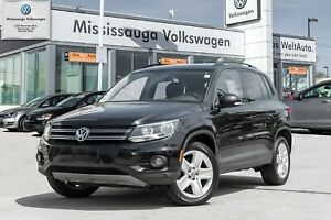 2016 Volkswagen Tiguan Comfortline/PANO ROOF/BACK UP CAM/4MOTION