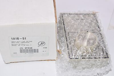 New White Rodgers 1a16-51 Heavy-duty Line Voltage Heat-cool Thermostat