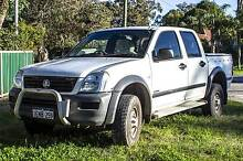 2004 Holden Rodeo Ute 2x4 dual cab  REGO til oct Swan View Swan Area Preview