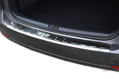 VAUXHALL MOKKA 2013 up REAR BUMPER SILL PROTECTOR STAINLESS STEEL