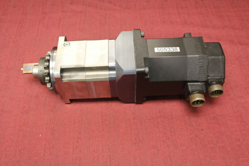 Allen Bradley F-4030-Q-H00AA Servo Motor with Parker PS115-100-SH Gear Reducer