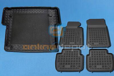 Fußmatten Auto Autoteppich für BMW Serie 3 E91 Touring 2005-12 Set ohne Armlehne