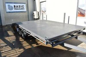 Own This  Flat Top Beaver Tail Trailer for as little as $55 per Week! Holden Hill Tea Tree Gully Area Preview